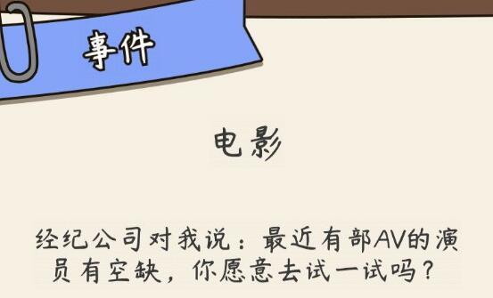 人生模拟器中国式人生电影事件全选项结局一览