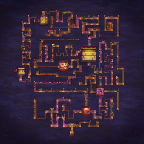 FGO德川回天迷宫地图一览