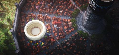 《我的世界》建筑团队还原迷宫都市欧拉丽 宏伟震撼