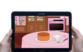 厨师蛋糕女孩