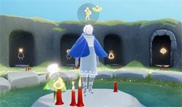 光遇蓝色斗篷背人先祖位置一览