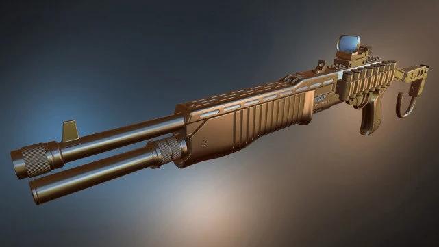 和平精英SPAS12霰弹枪厉害吗