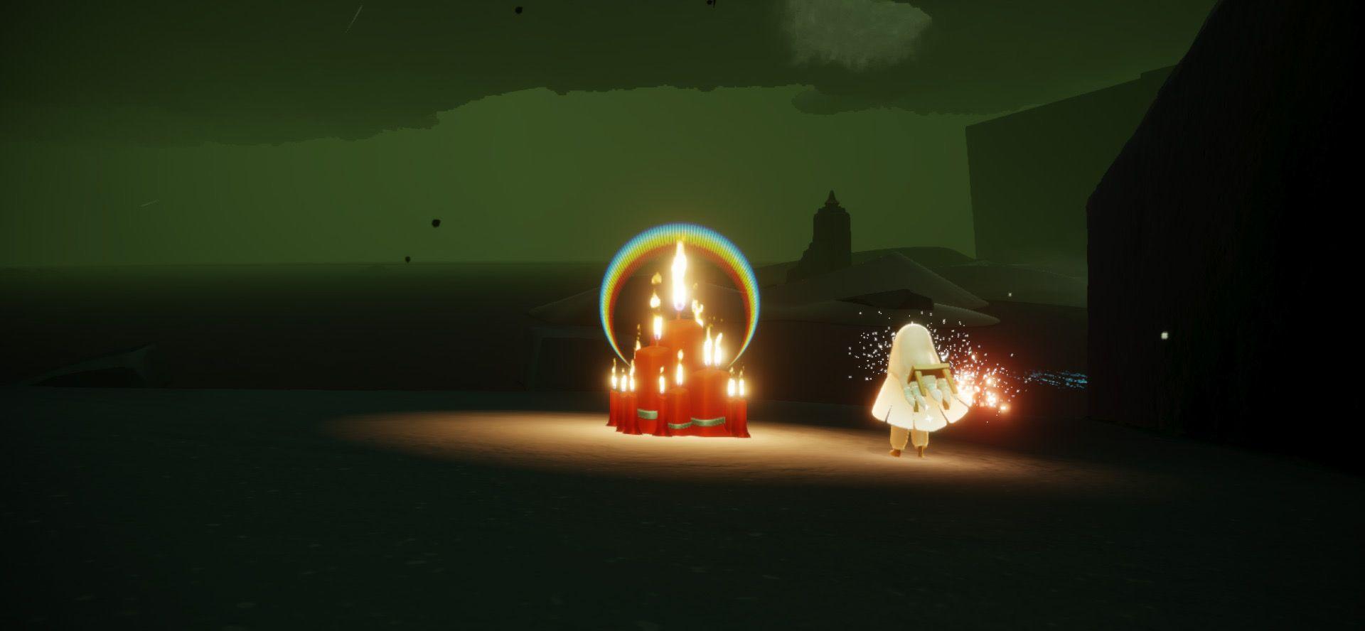 光遇每日大蜡烛刷新点位图文攻略