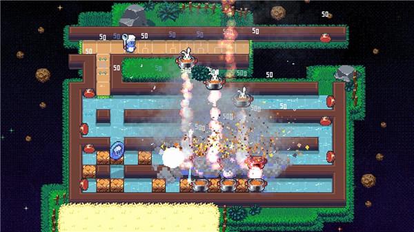 16-bit风格不要吃兔兔中文版将于9月登陆PS4和NS平台