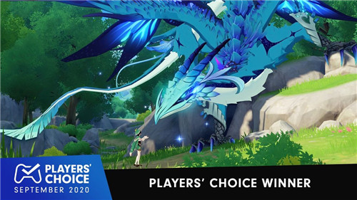 PlayStation官方宣布原神获9月份PS4国外最佳新游奖