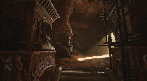 黑神话悟空主美发布新截图 未来可能迁移至虚幻5开发