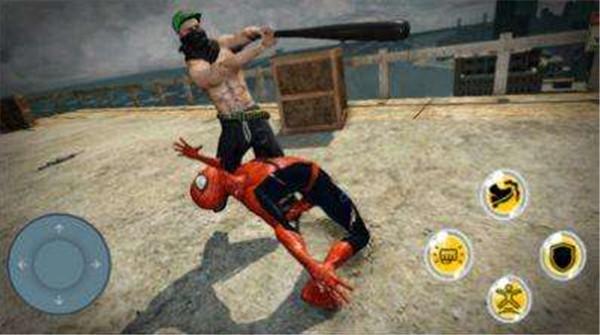 英雄蜘蛛格斗