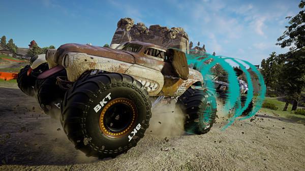 怪物卡车钢铁巨人2游戏宣传图片