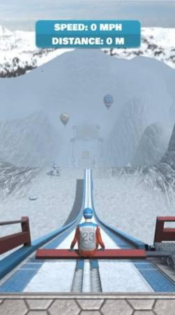 斜坡滑雪游戏