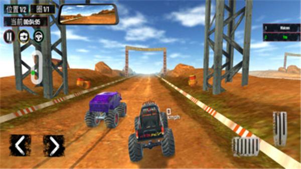 越野怪物赛车游戏画面