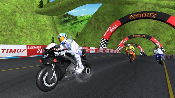 摩托车竞技比拼