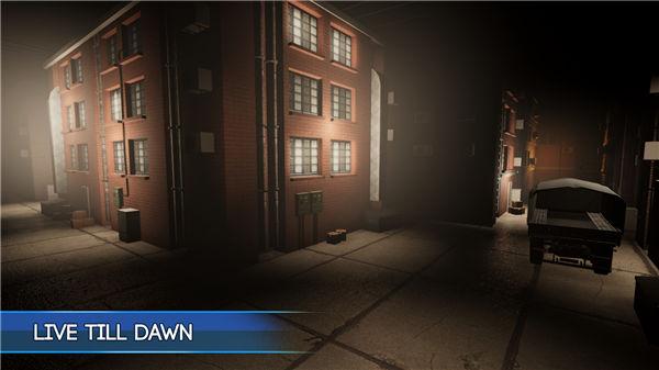 真实模拟的游戏街道