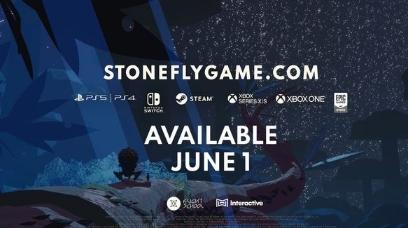 手绘风机甲冒险游戏 Stonefly6月1日发售