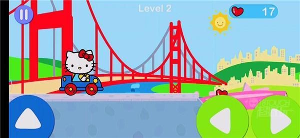 凯蒂猫飞行冒险官方版游戏场景截图