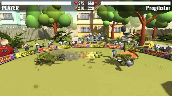 游戏战斗场景
