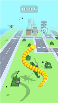 贪吃蛇摧毁城市