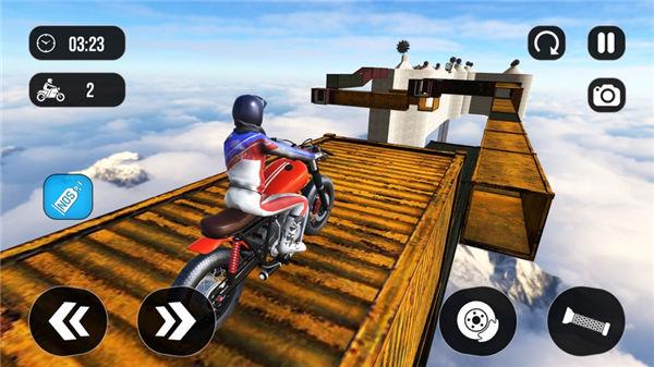 都市骑手越野摩托车游戏场景