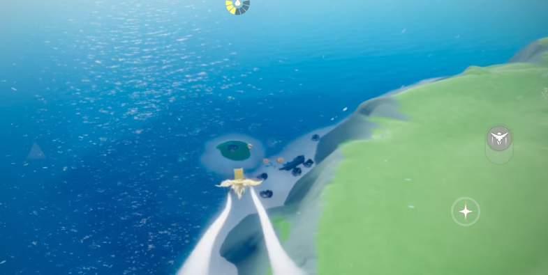 光遇圣岛被污染的喷泉位置一览