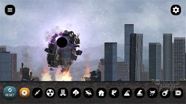 灾难模拟器15种灾难毁灭场景