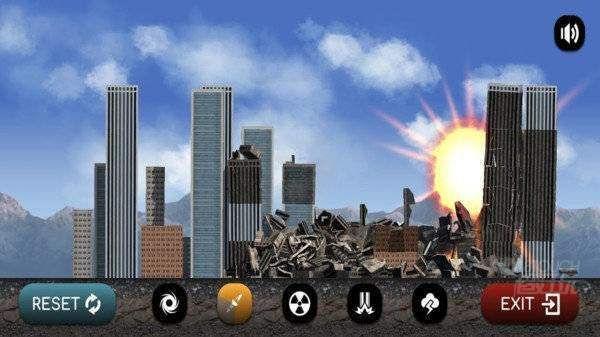 灾难模拟器15种灾难轰炸场景
