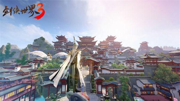 剑侠世界3御剑飞行