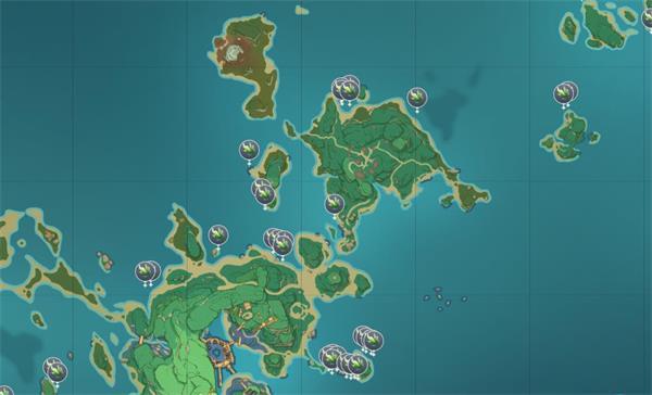 原神海草全位置刷新一览