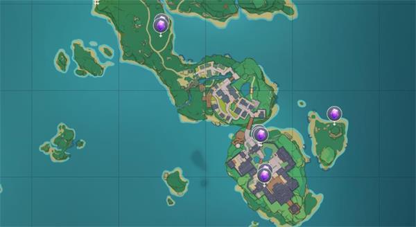 原神紫晶块分布位置一览