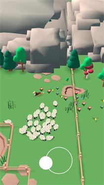 小牧羊人游戏场景