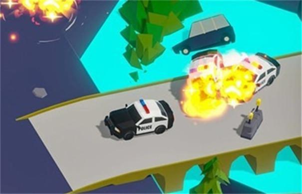逃跑任务游戏场景