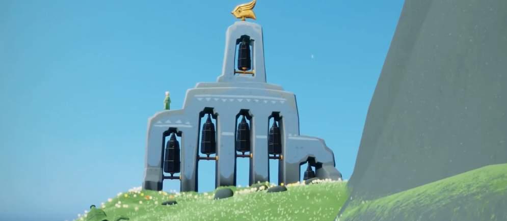 光遇云野中研究钟塔遗迹的朋友在哪