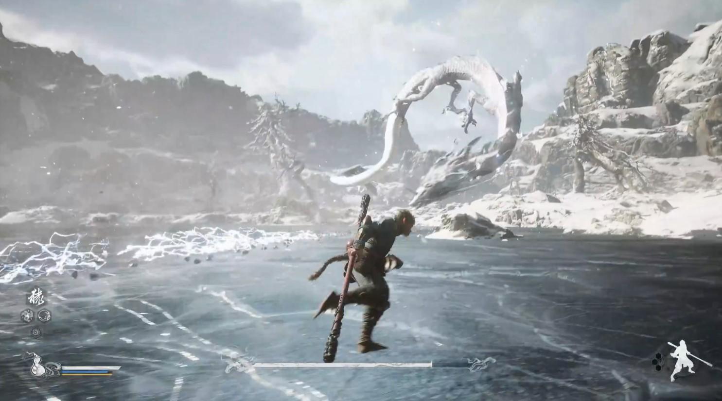 黑神话:悟空新虚幻5实机演示 展示白龙等超多BOSS战