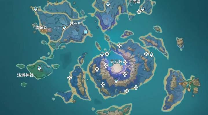 原神天云草实采集分布位置一览