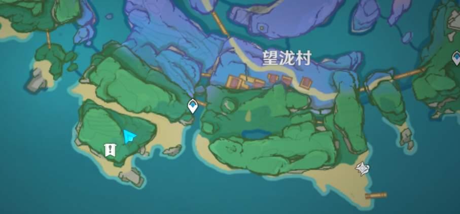 原神占卜南方的洞窟位置一览
