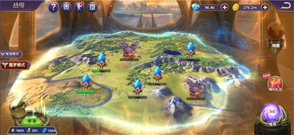 塔防纪元游戏场景地图