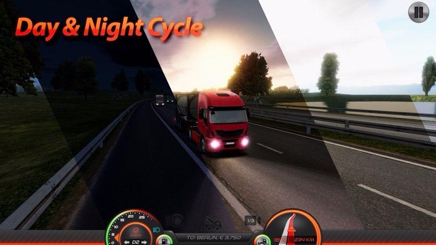 卡车模拟器:欧洲2截图3