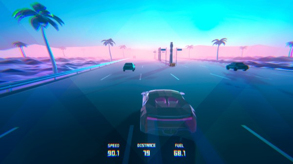 科幻公路赛车3D截图2
