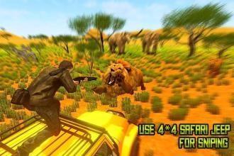狩猎野生动物园:动物狩猎截图4