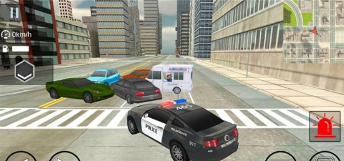 警车模拟器截图3