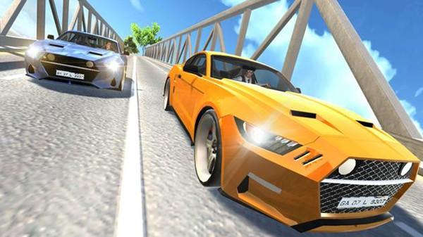肌肉车驾驶模拟器截图4