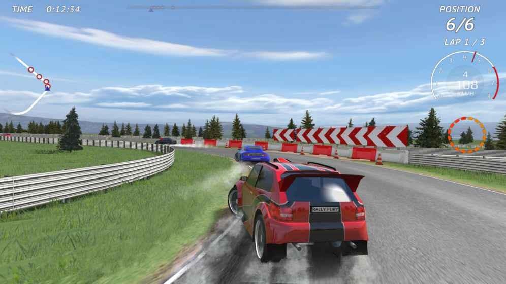 拉力赛车极限竞速截图4