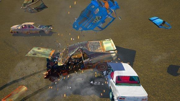 撞车模拟器截图2