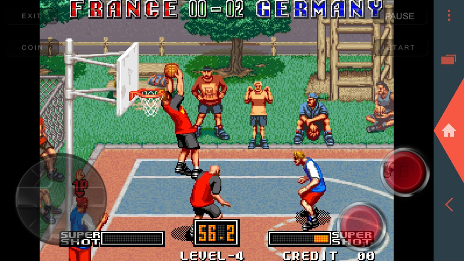 街机街头篮球截图2