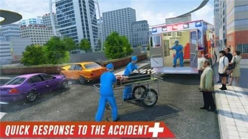 救护车驾驶模拟器截图1