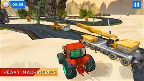 工程卡车驾驶模拟器3D截图3