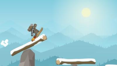火柴人滑雪冒险截图1
