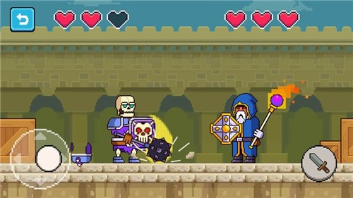 我的骑士暗黑格斗截图3