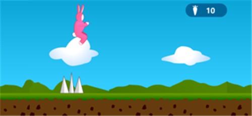 超级兔子跳超级经典版截图2