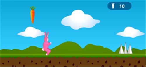 超级兔子跳超级经典版截图1