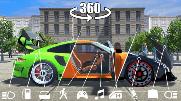 豪车模拟器截图2