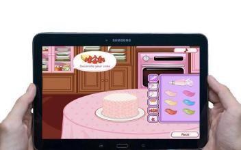 厨师蛋糕女孩截图1